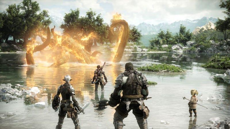 """Illustration for article titled Final Fantasy XIV """"Damaged"""" Final Fantasy"""