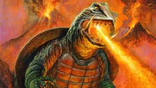 Illustration for article titled Gamera Has Never Looked More Badass Than He Does In This Stunning Art