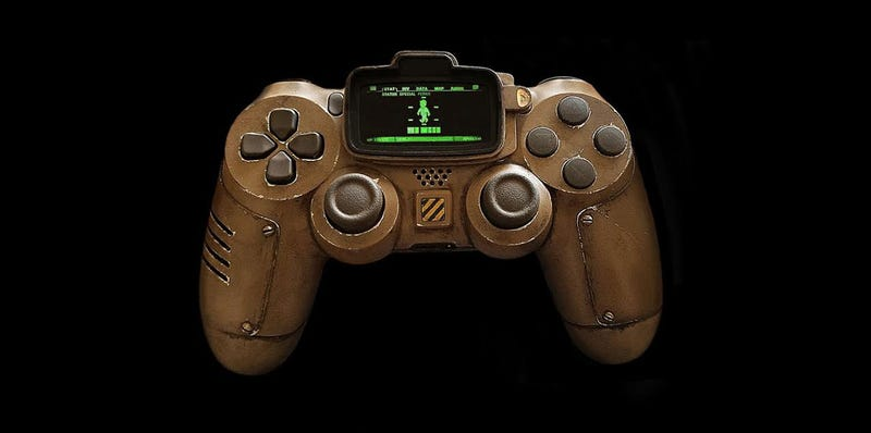 Illustration for article titled Fallout Controller Looks Like It Survived The Apocalypse