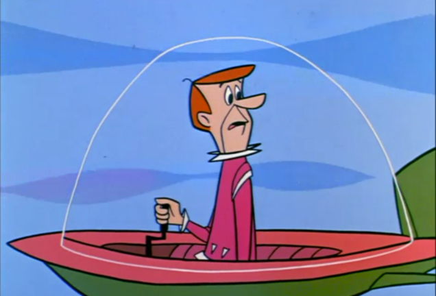 What s on the Ground in The Jetsons?