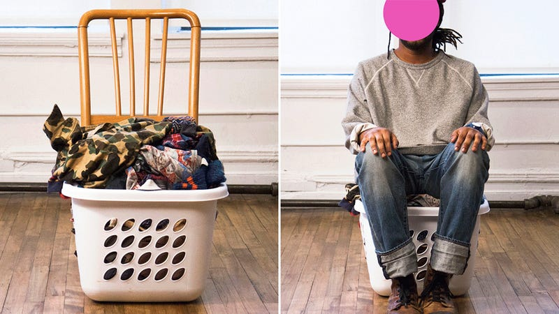 The Hamper Chair Is Your New Best Excuse For Never Doing Laundry