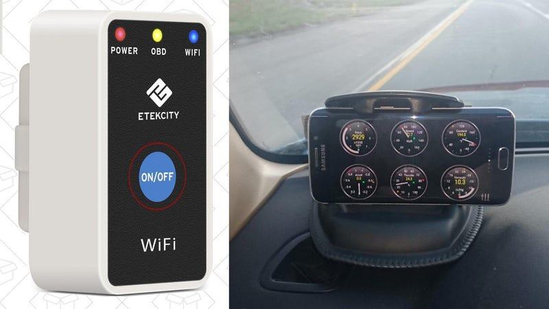 Etekcity Wi-Fi OBD2 Smart Car Scanner, $17 with code 6CAEX257