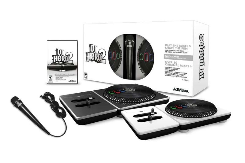 Illustration for article titled We're Giving Away Four Dj Hero 2 Party Bundles