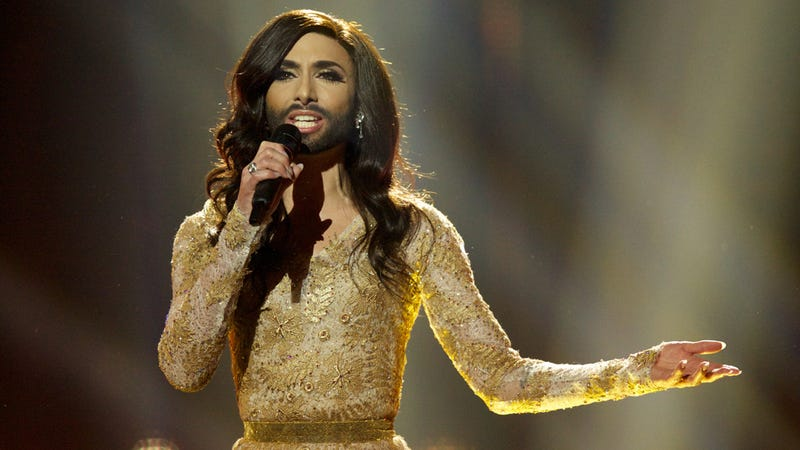 Illustration for article titled Russia's Anti-Gay Lobby Flips Lid Over Eurovision's Bearded Drag Queen