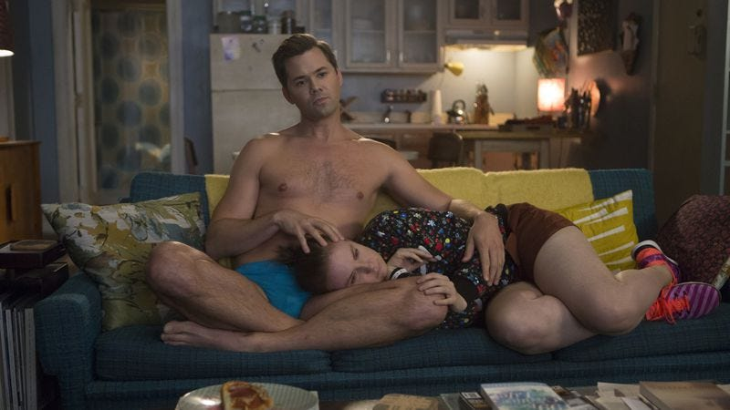 Andrew Rannells and Lena Dunham (Photo: HBO)