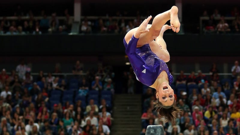 Illustration for article titled U.S. Gymnastics Favorite Jordyn Wieber Outscored Nearly Everyone Else In Preliminaries. That Wasn't Enough To Qualify Her For The All-Around Final.