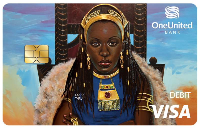 Illustration for article titled Black-Owned Bank OneUnited Offers the Blackest Royalty Bank Card Money Can Buy