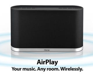 Illustration for article titled iHome Shows Off the First Speaker With Apple's AirPlay Built In
