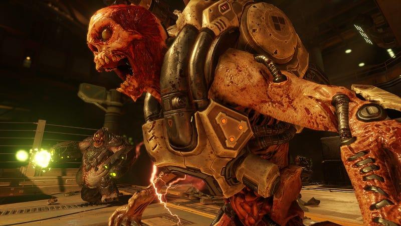 Illustration for article titled Todos los easter eggsy secretos que han encontrado en el nuevo Doom(hasta ahora)