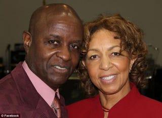 Bishop Bobby Davis and his wife, ChristineFacebook
