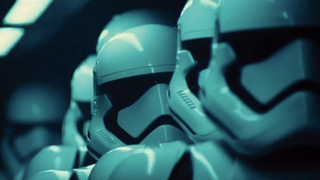 Illustration for article titled New Shots Of The Force Awakens Stormtrooper Toy Tease An Early Surprise