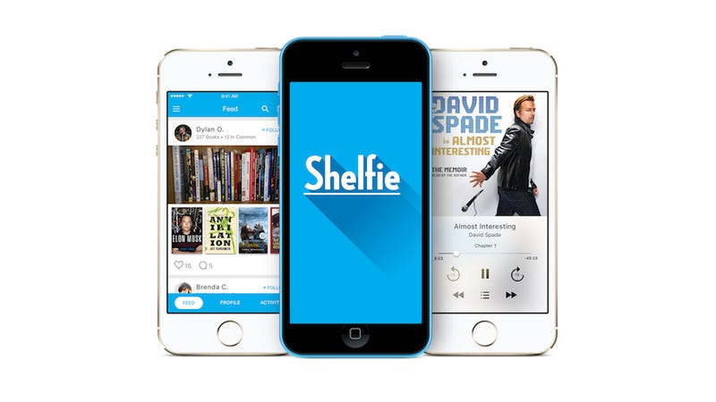 Shelfie Lets You Download Ebooks and Audiobooks by Snapping Photos
