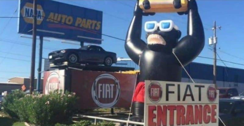 Corpus Christi Dealerships >> Inflatable Gorilla Still Missing After Being Stolen From Dealership