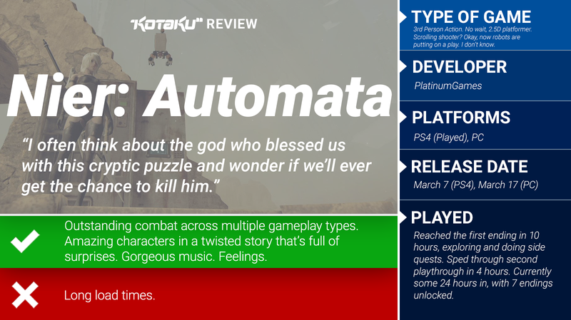 Nier: Automata: The Kotaku Review