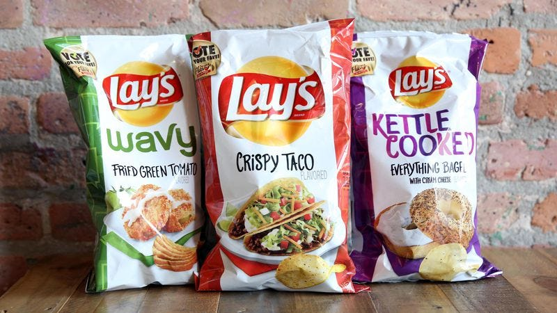 From fried green tomato to crispy taco, we tried Lay's new chip flavors