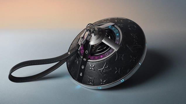 Louis Vuitton s Hideous $3,000 Speaker Looks Like a UFO