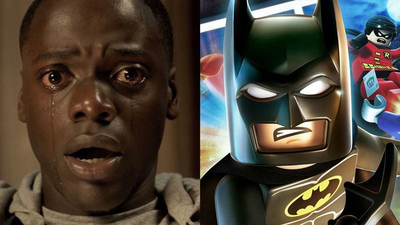 Illustration for article titled What I Learned About Race From Going To See 'Get Out,' Learning It Was Sold Out, And Going To See 'Lego Batman' Instead