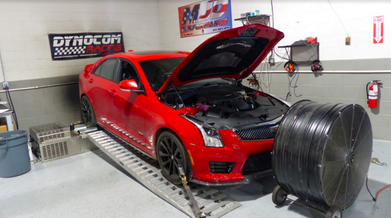 Illustration for article titled Here's How Much Horsepower The Cadillac ATS-V Really Makes On A Dyno