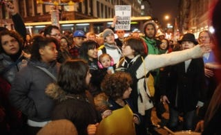Occupy Wall Street demonstration on Nov. 17 (Spencer Platt/Getty Images)