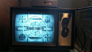 Fallout Should Always Be Played On An Old Black White Tv Set