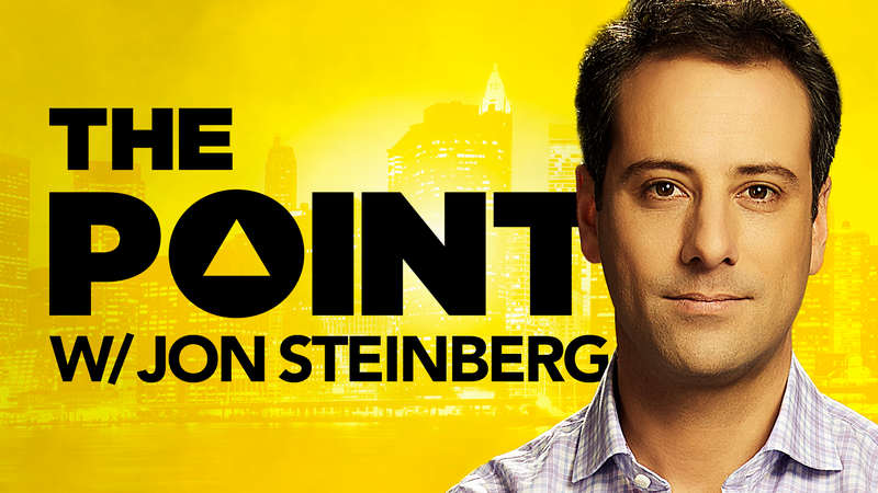 'The Point with Jon Steinberg' Premieres Thursday, February 15 at 10:30PM – Will Feature Some of the Biggest Names in Business, Finance, Media, Entertainment, and Technology