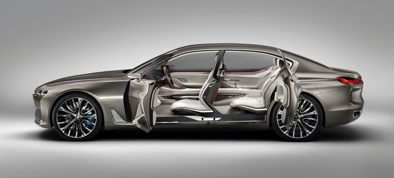 Illustration for article titled The BMW Vision Luxury Concept: What To Expect From The Next 7-Series