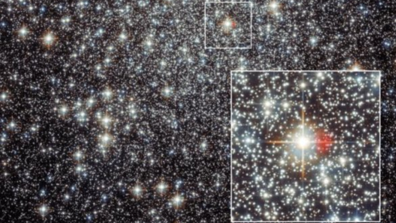 Observation of a globular cluster with a nebula that might be the remains of an explosion recorded by ancient Chinese astronomers.
