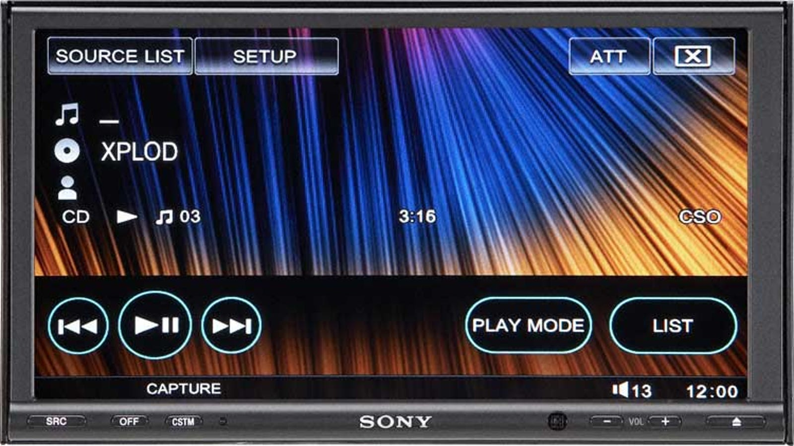 Sony's XAV-W1 Does SACD, 5 1 Surround and DVD On a 7-Inch Screen