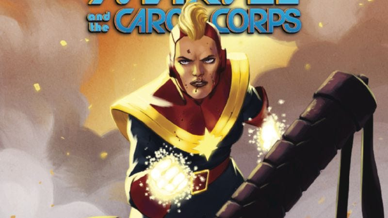 Illustration for article titled Exclusive Marvel preview: Witness the final battle of Captain Marvel And The Carol Corps