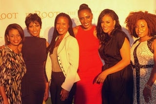 The Root's Sheryl Salomon, Tamron Hall, Majora Carter, Pamela Abalu, Beverly Bond, Demetria Lucas (Stacy-Ann Ellis/The Root)
