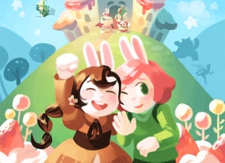 Illustration for article titled First Second Is Publishing the Hilarious and Stunning Webcomic Epic Cucumber Quest