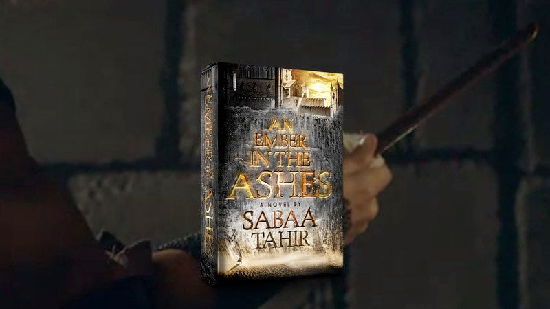 Illustration for article titled Win a copy of An Ember In The Ashes, the new fantasy novel from Sabaa Tahir