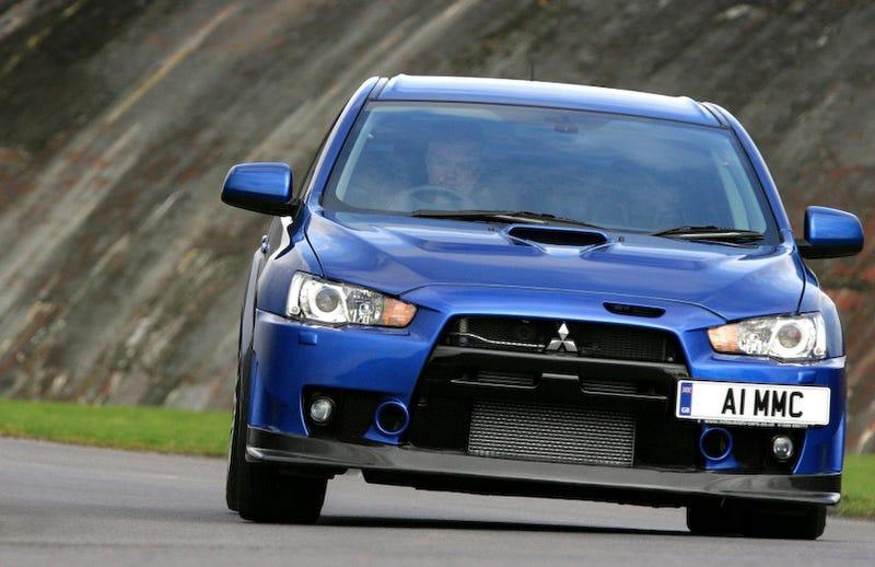 Illustration for article titled Mitsubishi isn't denying Evo dead after 2013