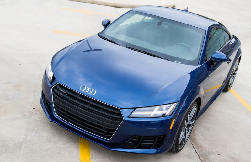 Illustration for article titled The 2016 Audi TT's Biggest Edge Is Still How Good It Looks