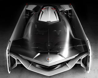 Illustration for article titled If Darth Vader had a car, it would be this killer Cadillac concept