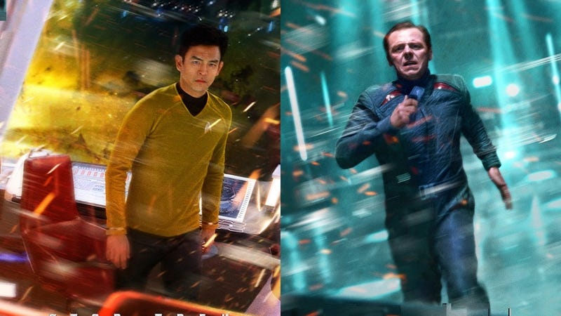"""Illustration for article titled Simon Pegg's Star Trek Reboot Theory: Is this the """"Mirror """" Crew?"""