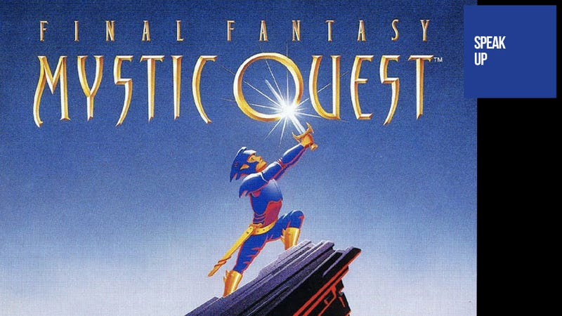 Illustration for article titled Somebody Found Something Nice to Say About Final Fantasy: Mystic Quest