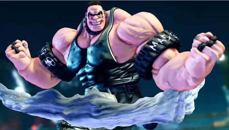 Illustration for article titled Street Fighter V's Newest Character Is Slightly Less Bulky Than He First Appeared