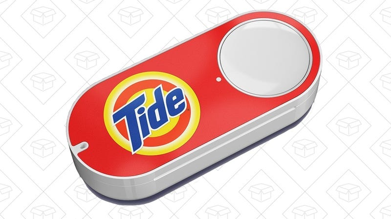 Tide Dash Button   $2   Amazon   $5 credit on first use