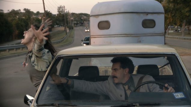 Borat Subsequent Moviefilm's director tried to talk Sacha Baron Cohen out of making the moviefilm