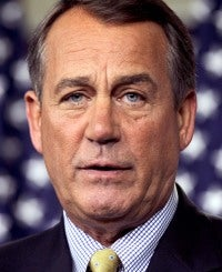 House Minority Leader John Boehner (R-OH)