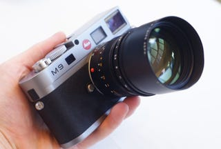 Illustration for article titled Hands On With Leica's M9 and X1: Fine Art, For a Price