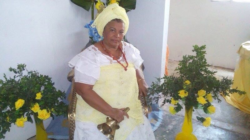 Carmen Flores is a priestess in the Candomblé Afro-Brazilian religion. (Courtesy of Carmen Flores)