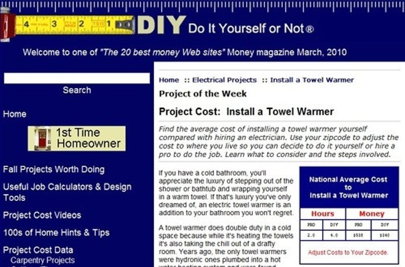 Diyornot calculates the price of diy projects solutioingenieria Image collections