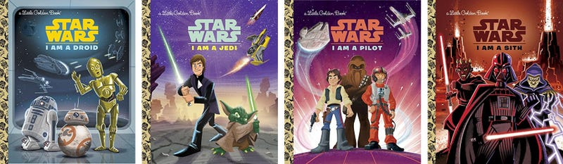 Illustration for article titled You Don't Have to Be a Kid to Want All the New Star Wars Little Golden Books