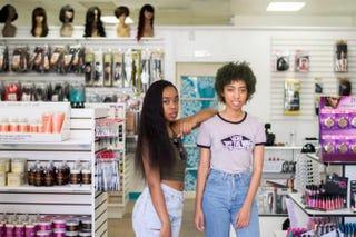 Kayla andKeonna DavisKD Haircare Supply