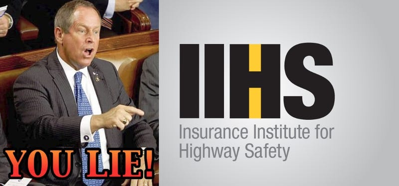 Illustration for article titled Opinion: The IIHS is full of it.