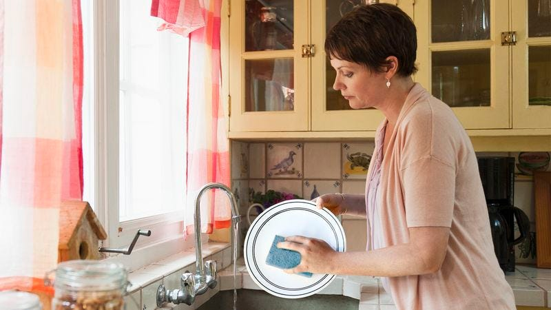 Illustration for article titled Woman Hopes Husband Doesn't Notice She Lost Wedding Ring Finger Over Weekend