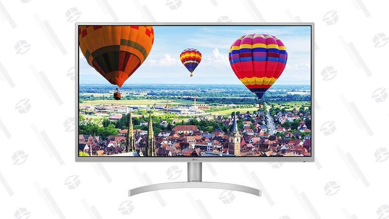 "LG 32"" QHD Monitor With FreeSync | $219 | Amazon"
